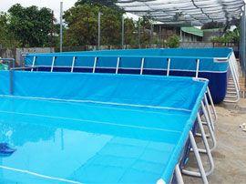 Bể bơi khung kim loại VIETPOOLS giá rẻ