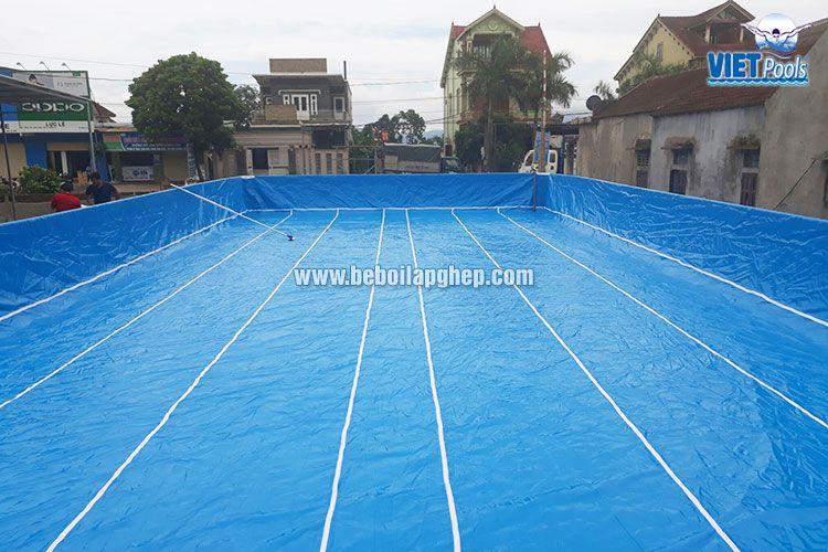 Bể bơi lắp ghép thông minh VIETPOOLS tại Tân Kỳ Nghệ An 1