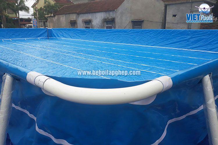 Bể bơi lắp ghép thông minh VIETPOOLS tại Tân Kỳ Nghệ An 5