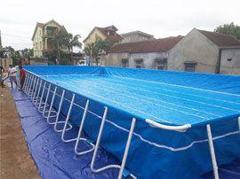 Bể bơi lắp ghép thông minh VIETPOOLS tại Tân Kỳ Nghệ An