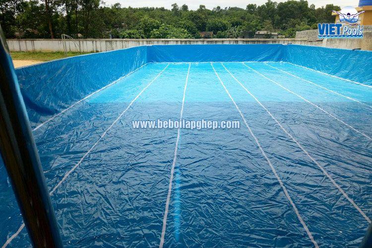 dạy bơi tại nhà với bể bơi thông minh 4
