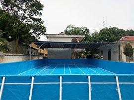 Dạy bơi tại nhà với bể bơi thông minh