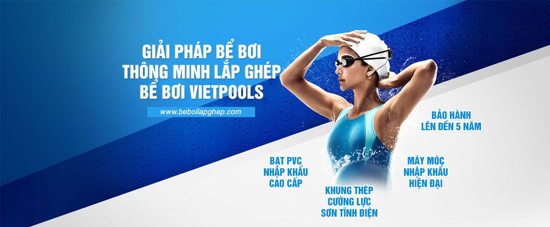 giải pháp bể bơi thông minh lắp ghép vietpools