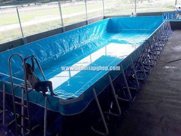 Bể bơi di động VIETPOOLS tại Nghệ An 2017