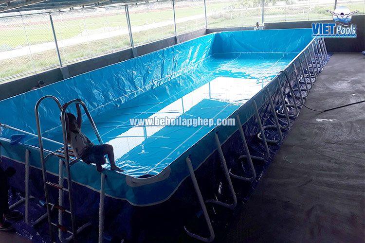 Bể bơi di động VIETPOOLS tại Nghệ An 2017 1