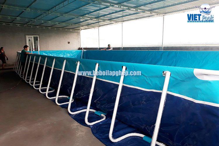 Bể bơi di động VIETPOOLS tại Nghệ An 2017 2