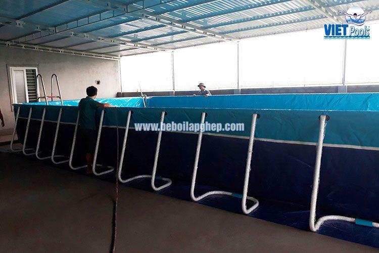 Bể bơi di động VIETPOOLS tại Nghệ An 2017 3