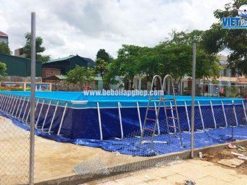Bể bơi thông minh Vietpools tại Sốp Cộp, Sơn La