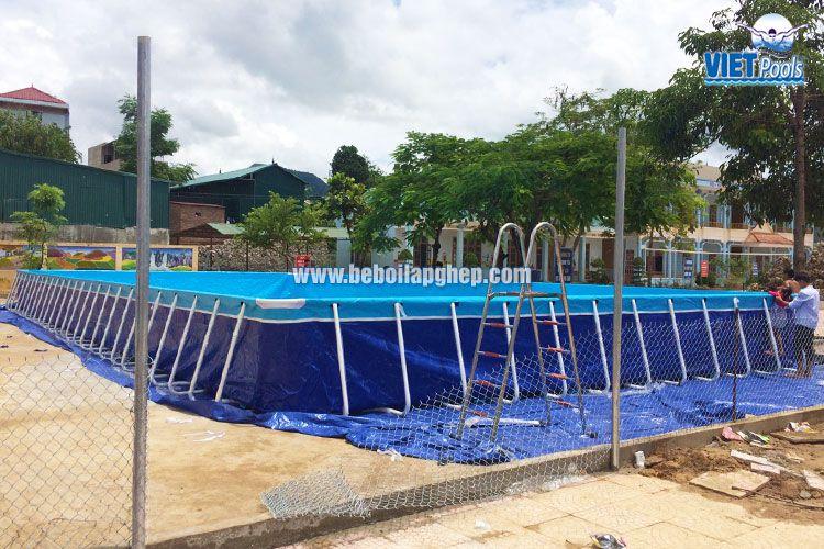 Bể bơi thông minh Vietpools tại Sốp Cộp, Sơn La 1