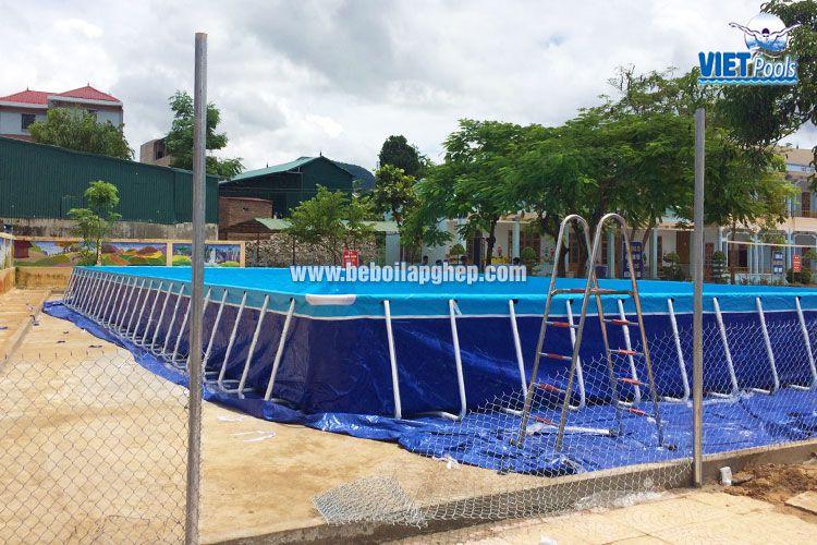 Bể bơi thông minh Vietpools tại Sốp Cộp, Sơn La 2