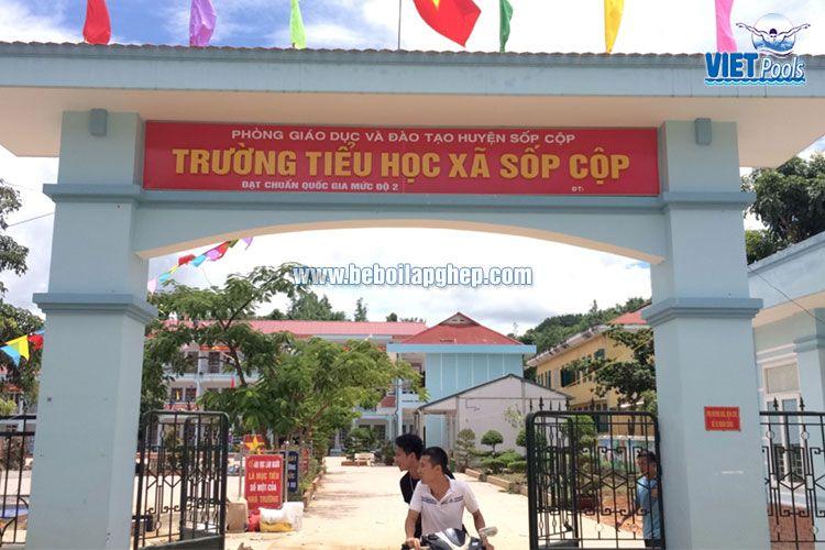 Bể bơi thông minh Vietpools tại Sốp Cộp, Sơn La 3