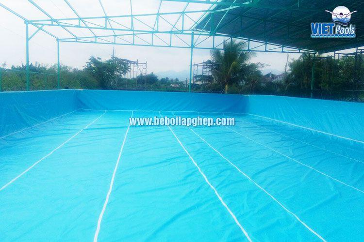 Bể bơi di động Vietpools 10x25m tại Phan Thiết 1