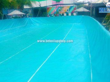 Bể bơi lắp ghép thông minh Vietpools tại KVC Yolo