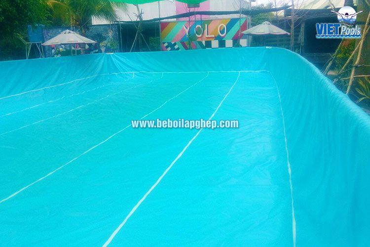 Bể bơi lắp ghép thông minh Vietpools tại KVC Yolo 1