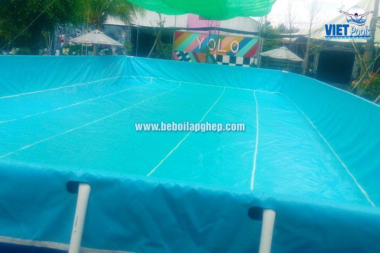 Bể bơi lắp ghép thông minh Vietpools tại KVC Yolo 2