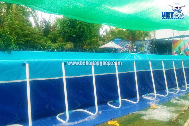 Bể bơi lắp ghép thông minh Vietpools tại KVC Yolo 3