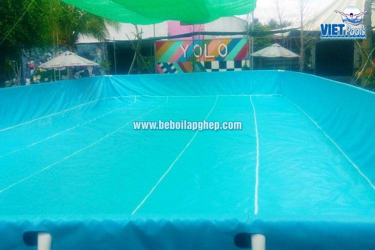 Bể bơi lắp ghép thông minh Vietpools tại KVC Yolo 4