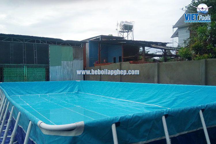 Cặp bể bơi thông minh Vietpools tại Bình Phước 1