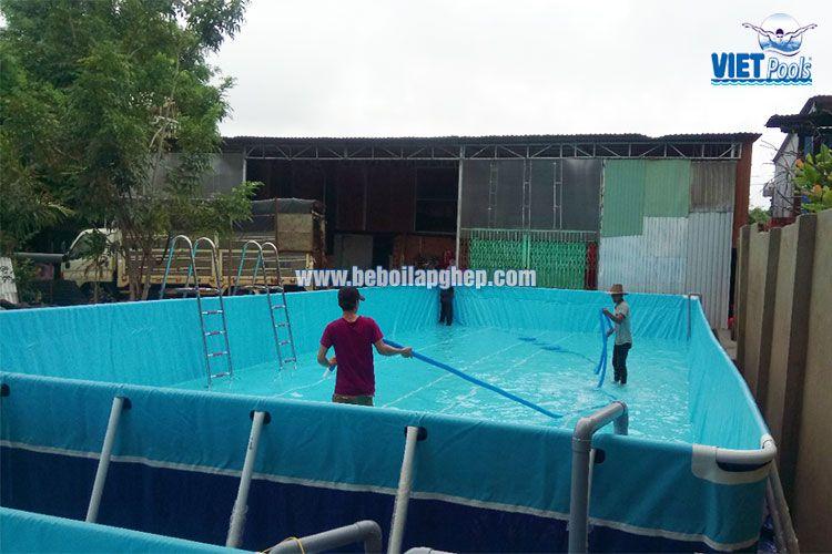 Cặp bể bơi thông minh Vietpools tại Bình Phước 3