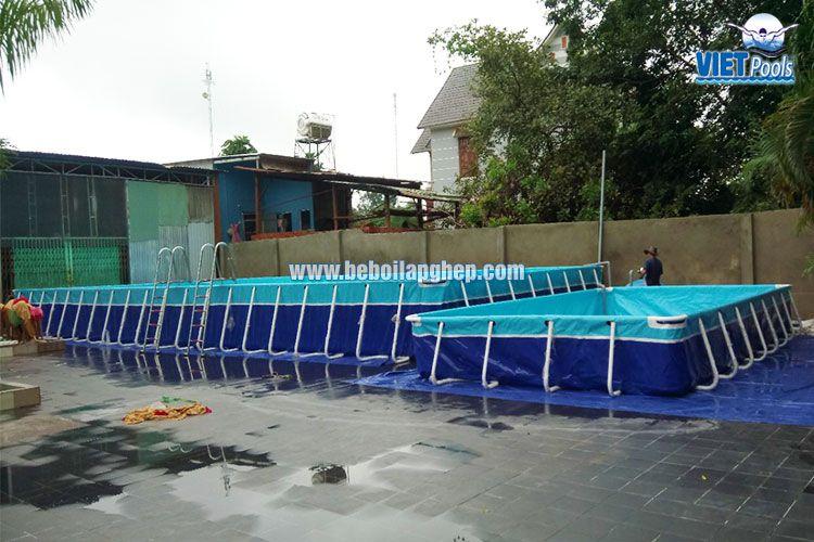 Cặp bể bơi thông minh Vietpools tại Bình Phước 4