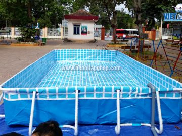 Bể bơi lắp ghép thông minh Vietpools tại Đồng Nai