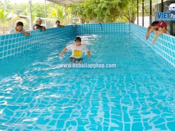 Bể bơi di động VIETPOOLS tại Nghệ An 2018