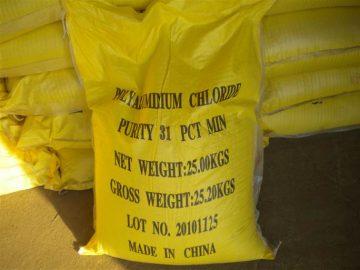Hóa chất trợ lắng bể bơi Poly Aluminium Chloride (PAC 31%)