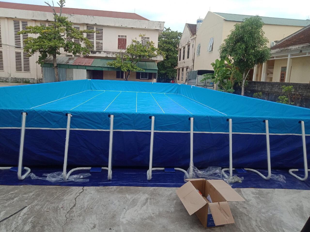 Bể bơi lắp ghép