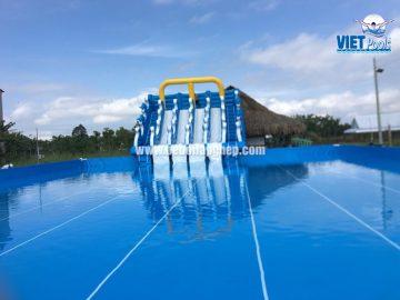 Bể bơi Vietpools tại Gò Chùa, Gò Dầu, Tây Ninh