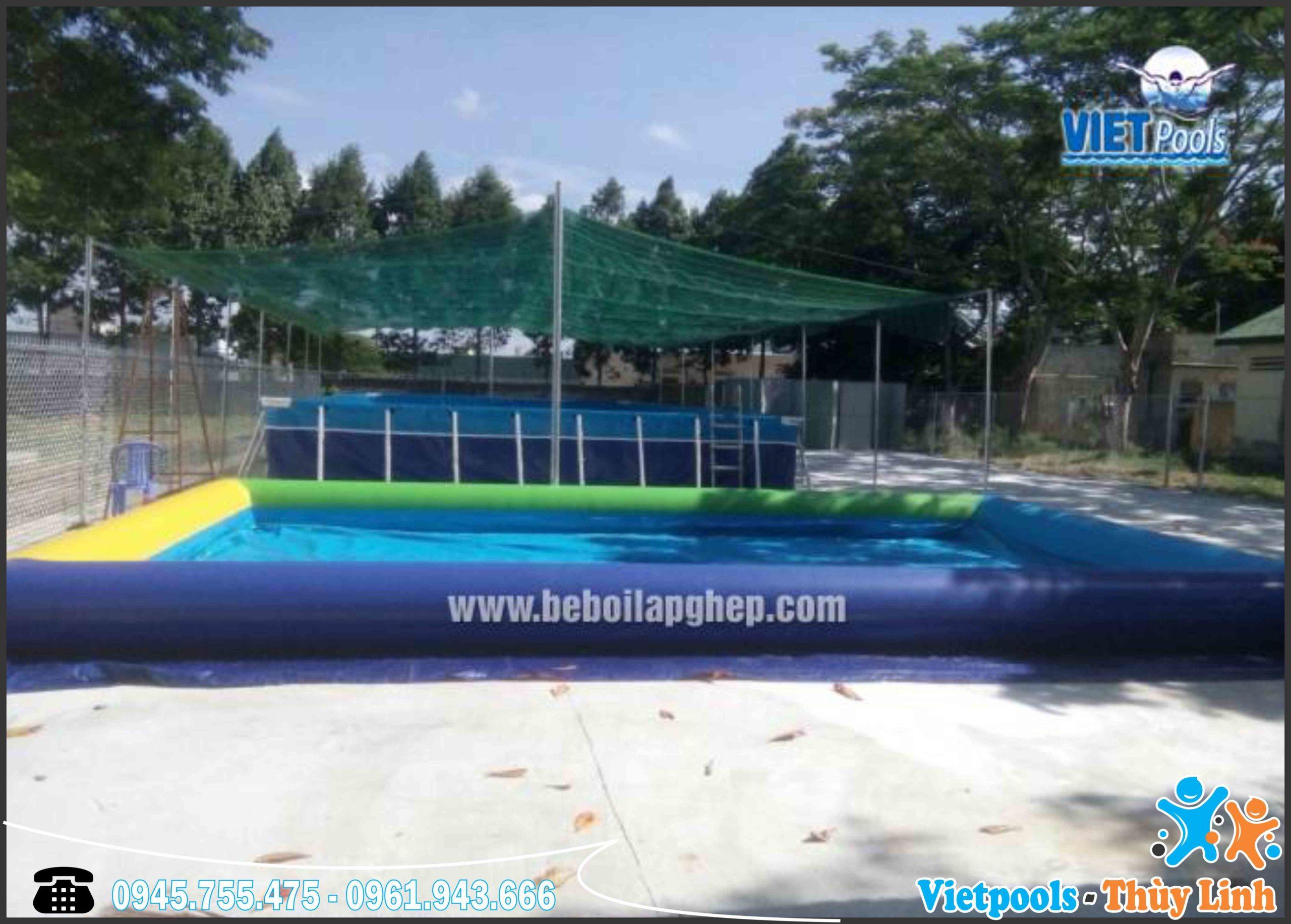 Xưởng sản xuất bể bơi thông minh hàng đầu Việt Nam 6