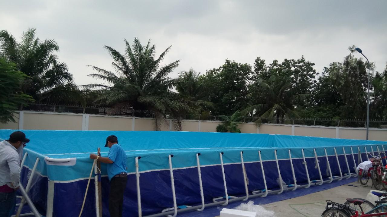 bể bơi trường học giá rẻ