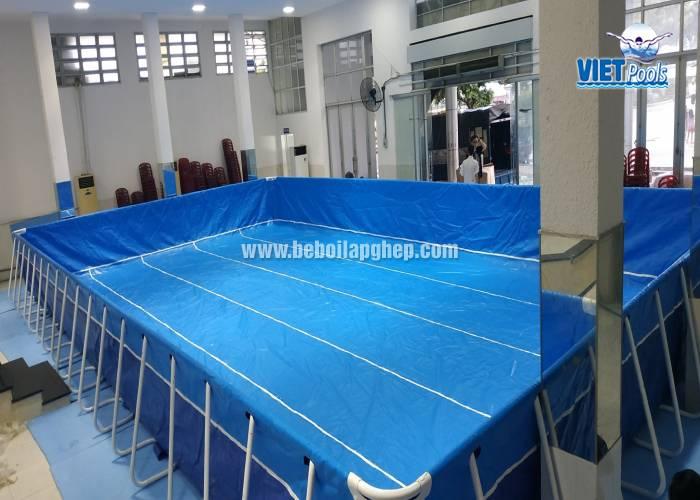 bể bơi khung kim loại cho trẻ em