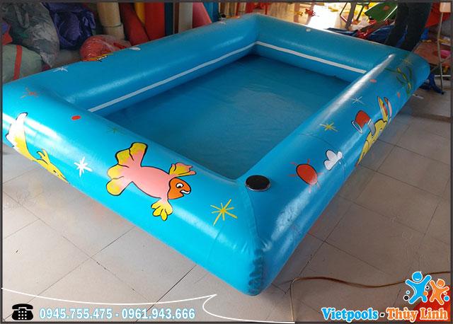 bể bơi bơm hơi nhỏ