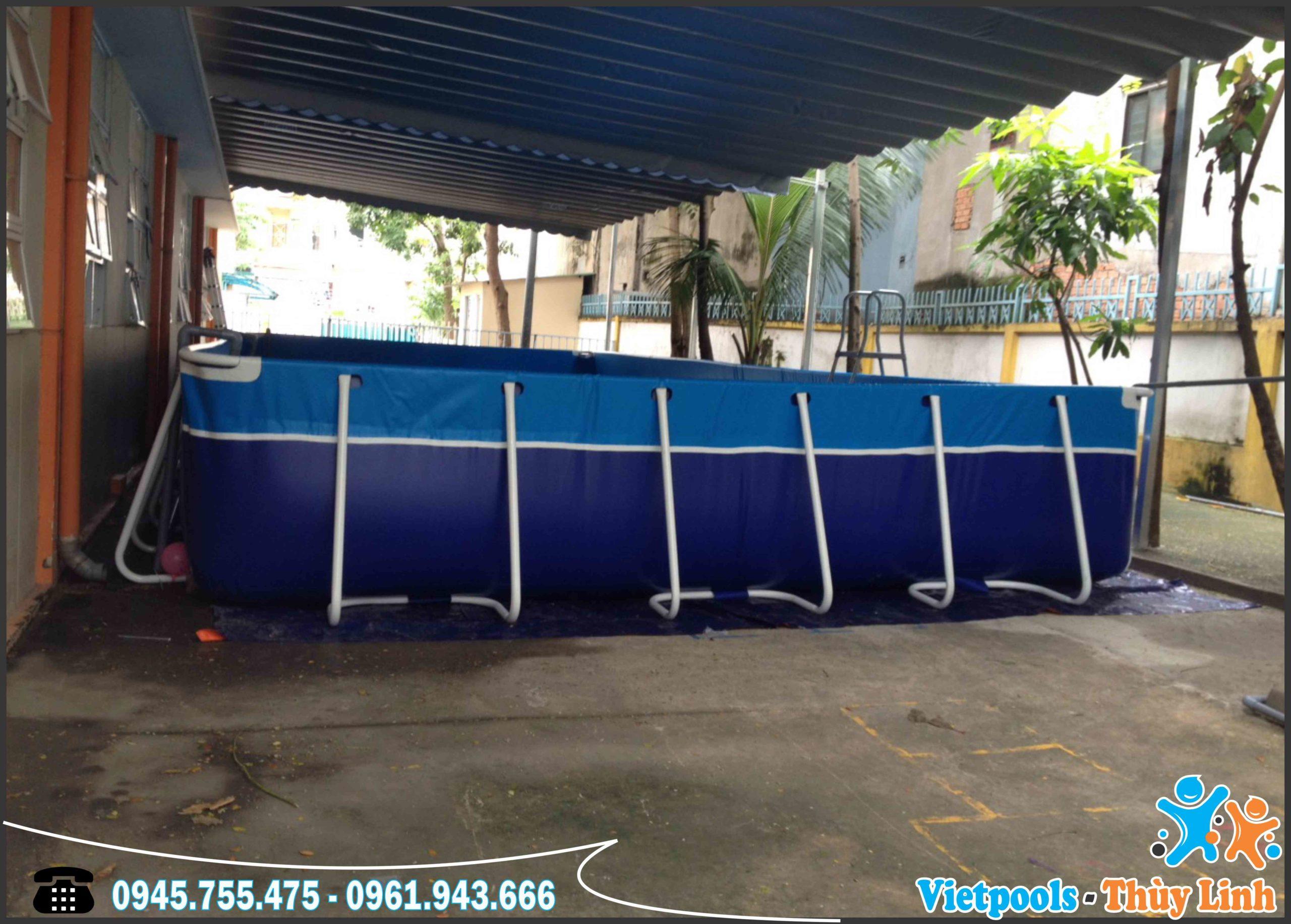 Xưởng sản xuất bể bơi thông minh hàng đầu Việt Nam 8