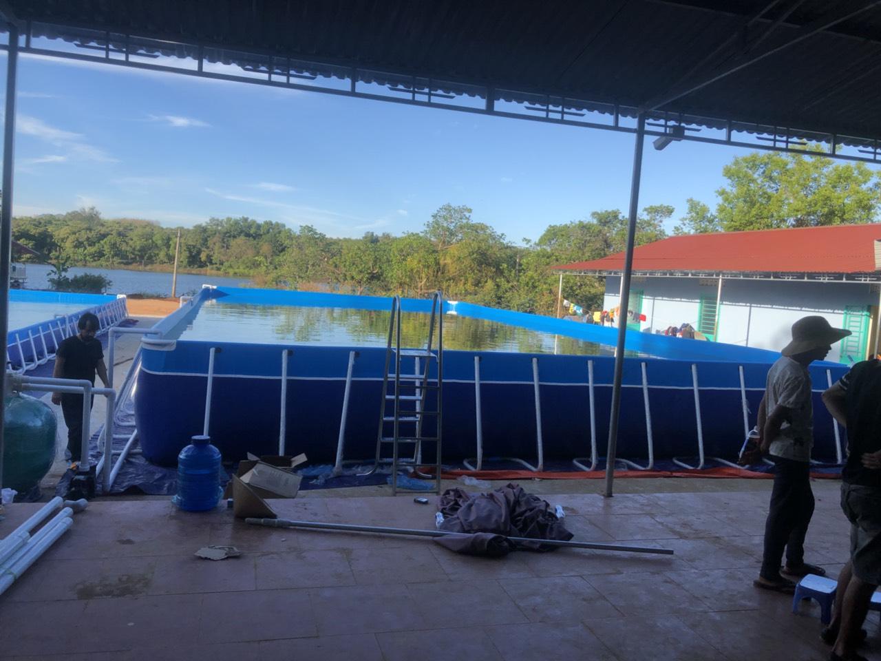 Bể Bơi Thông Minh Khung Kim Loại KT 8.1mx20.1m - 2020 19