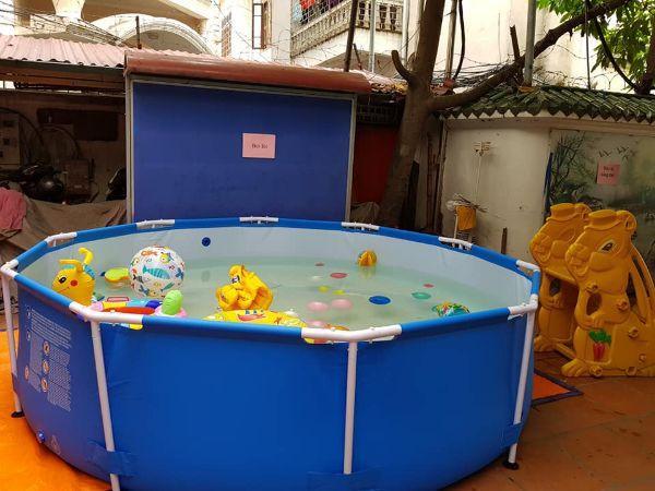 bể bơi di động besway 2020