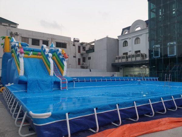 Kinh Doanh Hồ Bơi Di Động Lắp Ghép 14,1m x 15,6m 4