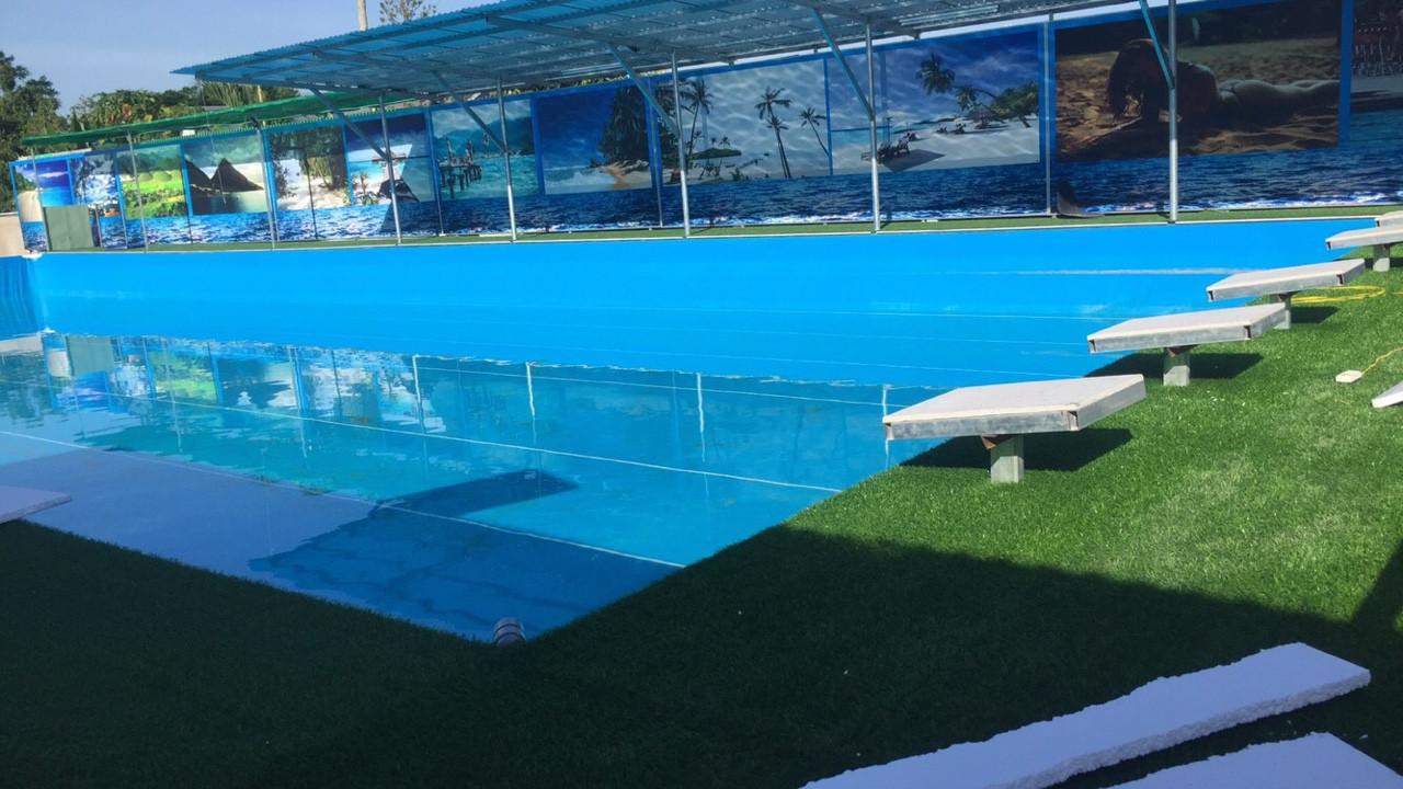 hồ bơi bạt âm
