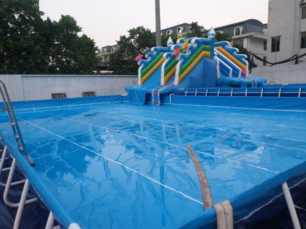 Kinh Doanh Hồ Bơi Di Động Lắp Ghép 14,1m x 15,6m 2