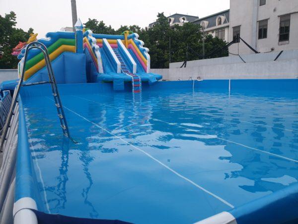 Kinh Doanh Hồ Bơi Di Động Lắp Ghép 14,1m x 15,6m 3