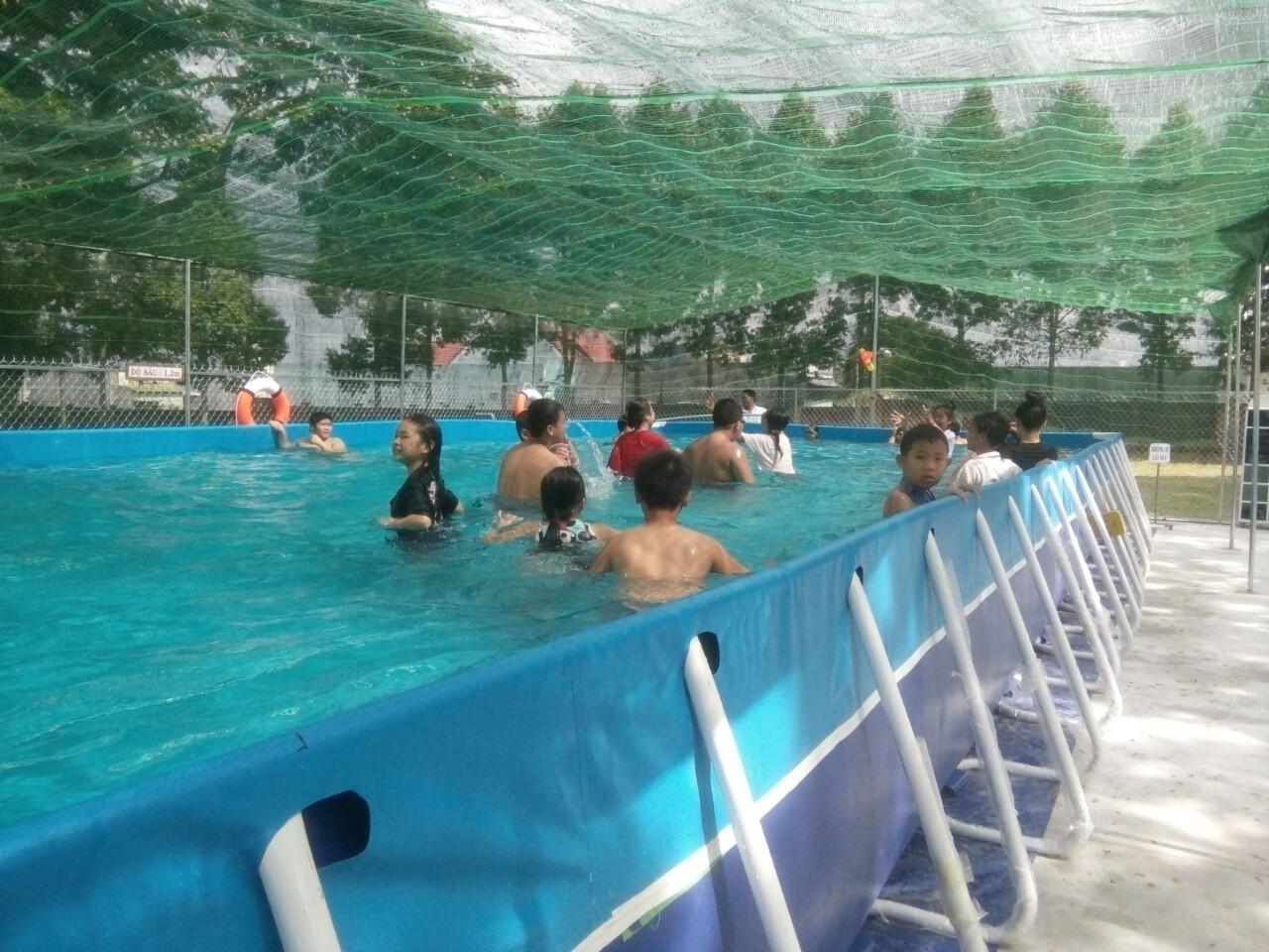 hồ bơi di động thông minh