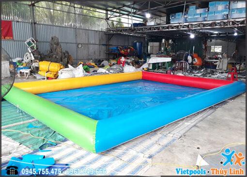 bể bơi bạt bơm hơi