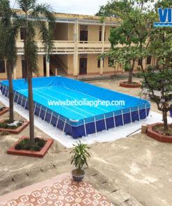 bể bơi trường học thông minh
