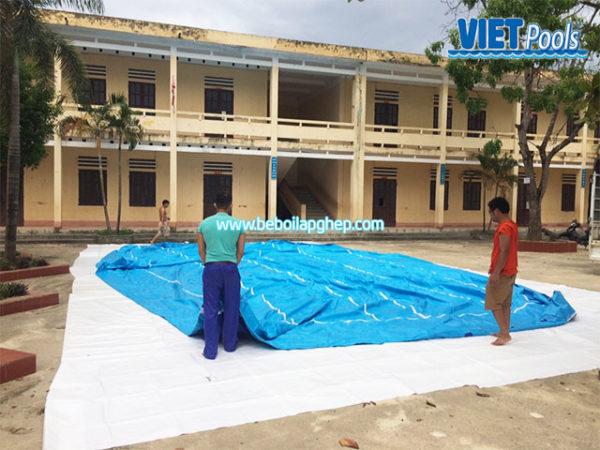 Bể Bơi Trường Học Thông Minh 5,1m x 14,1m 1