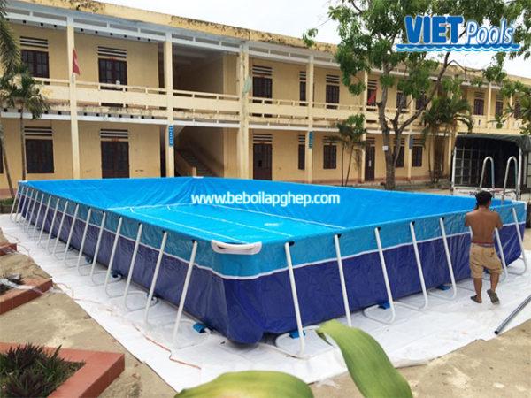 Bể Bơi Trường Học Thông Minh 5,1m x 14,1m 3