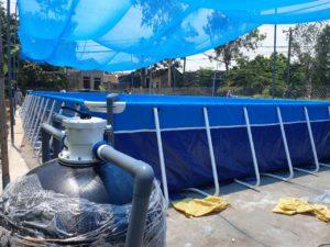 bình lọc bể bơi lắp ghép