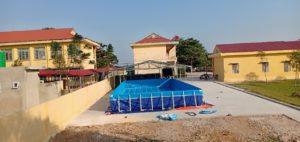 bể bơi trường học lắp ghép