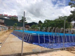 bể bơi trường học di động Vietpools