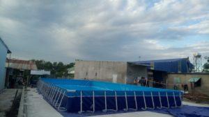 bể bơi thông minh kích thước lớn