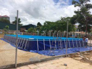 bể bơi trường học di động
